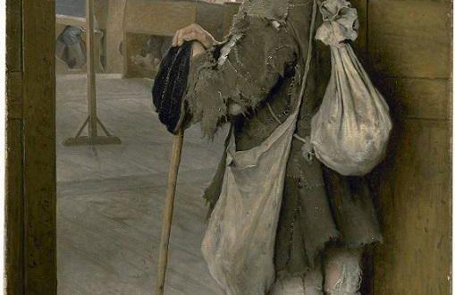 """Н. П. Богданов-Бельский """"У дверей школы"""" (1897)"""