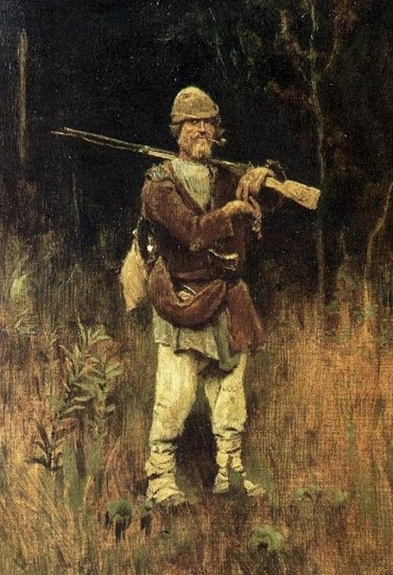 В.М. Васнецов - Савка-охотник (1889)