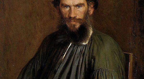 """И. Н. Крамской """"Портрет Льва Толстого"""" (1873)"""
