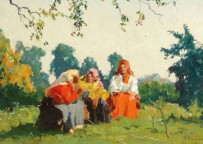 Гужавин М. Сплетницы (1927)