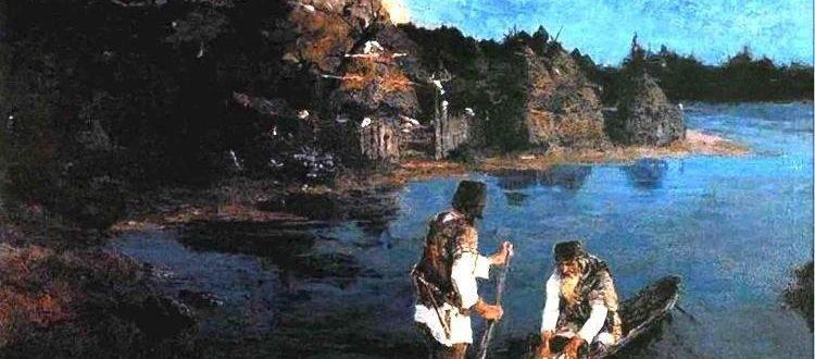 """Н. К. Рерих """"Гонец"""" (1897)"""