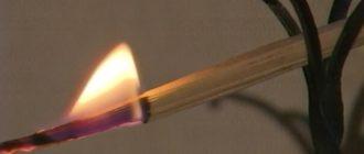 горящая лучина