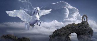Пегас в небе