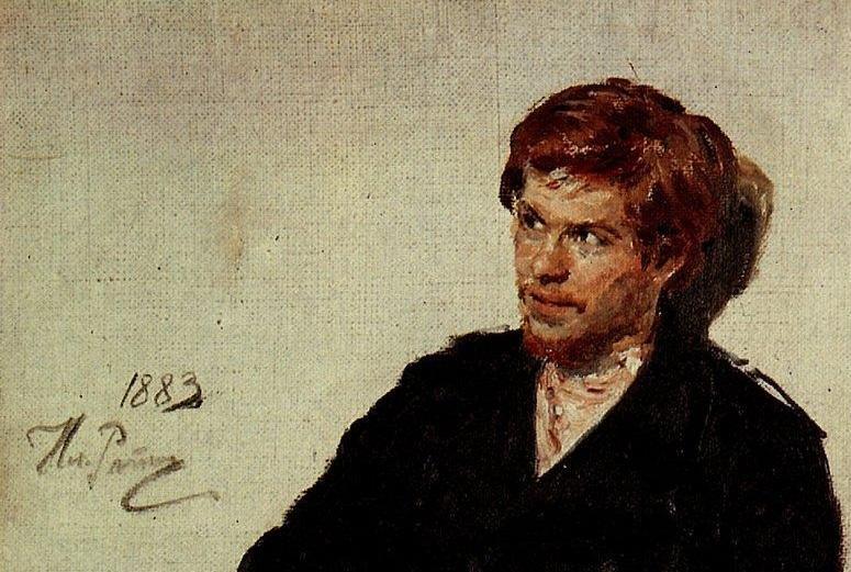 Репин И. Е. - Студент-нигилист (1883)