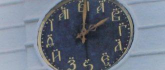 Часы в Суздале
