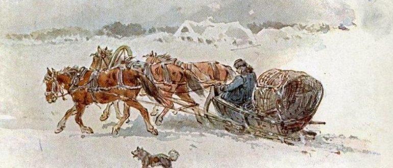 Н. Н. Каразин - Кибитка (1906)
