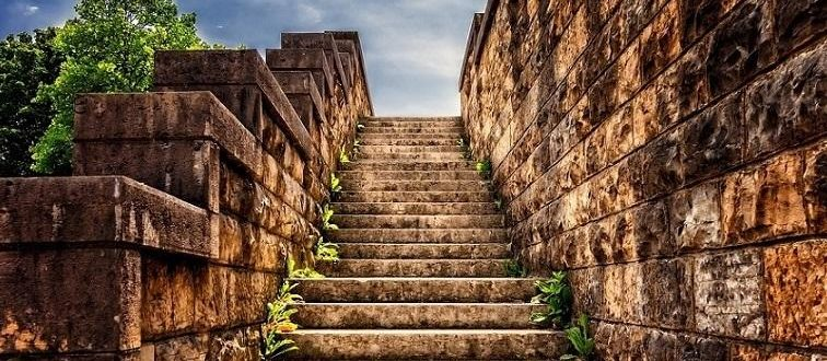 старинная лестница