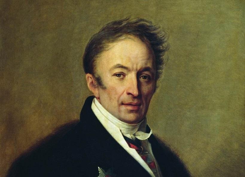 Венецианов А. Г. Портрет Карамзина (1828)